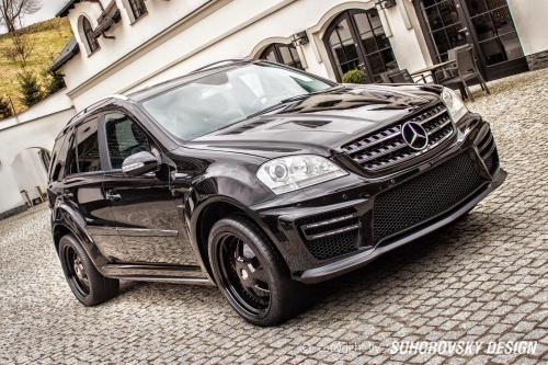 Тюнинг Mercedes  ML W164 -svtuning.by